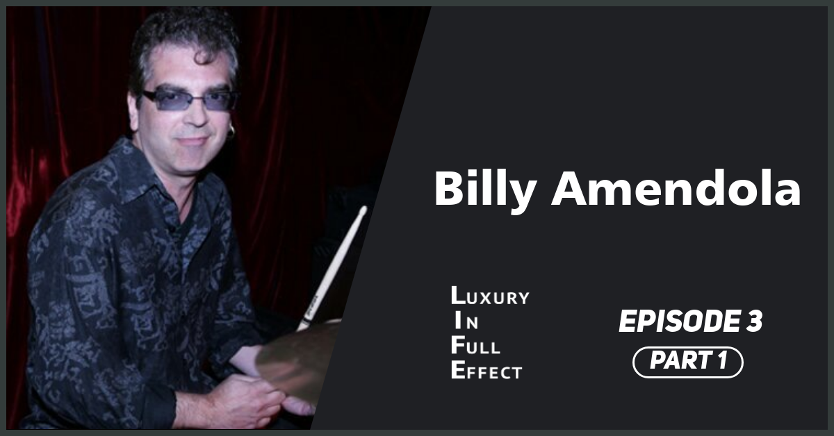 EPISODE #3: Billy Amendola: Pitching demos to John Lennon and playing punk rock with Mantus