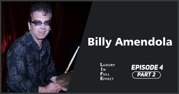 EPISODE #4: Billy Amendola Part 2: The story of Modern Drummer Magazine and sharing the stage with Ringo Starr